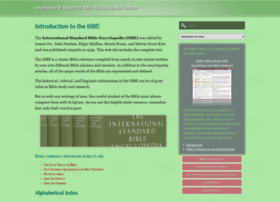 internationalstandardbible.com