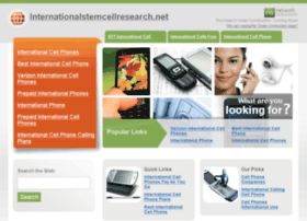 internationalstemcellresearch.net