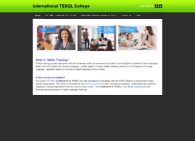 internationaltesolcollege.com.au