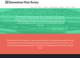 internationalviolasociety.org