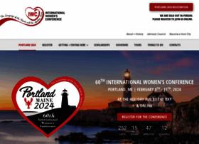 internationalwomensconference.org