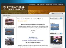 internationalyachtbrokers.co.za