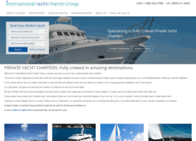 internationalyachtchartergroup.com