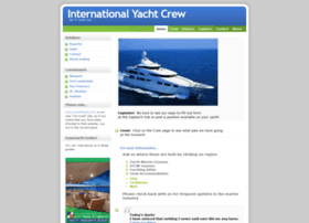 internationalyachtcrew.com