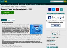 internet-phone-number-extractor.soft112.com