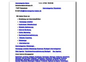 internetagentur-balzer.com