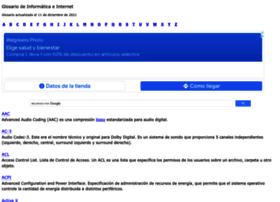 internetglosario.com