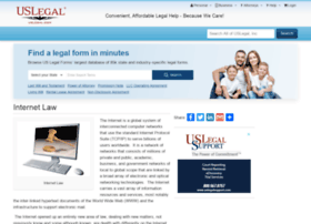 internetlaw.uslegal.com