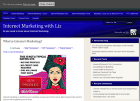 internetmarketingwithliz.com