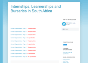 internships-learnerships-bursaries.blogspot.com