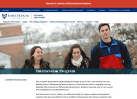 intersession.jhu.edu