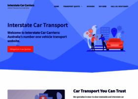 interstatecarcarriers.com.au