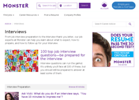 interview.monster.com