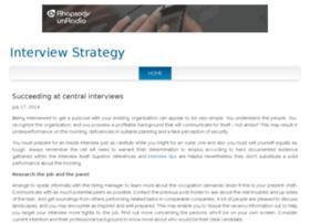 interviewstrategy.jigsy.com