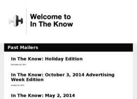 intheknow.hhcc.com