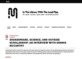 inthelibrarywiththeleadpipe.org