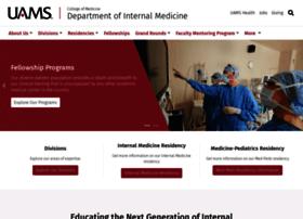 intmedicine.uams.edu