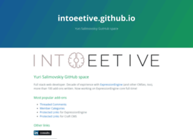 intoeetive.com