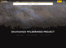 intotheokavango.org