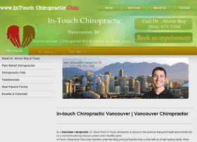 intouch-chiropractic.com