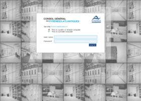intranet.cg64.fr