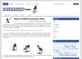inversion-table.org.uk