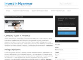 investinmyanmar.com