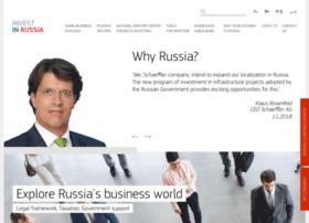 investinrussia.com
