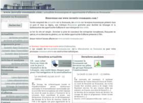 investir-roumanie.com