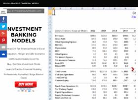 investmentbankingmodels.com