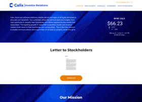 investor-relations.calix.com