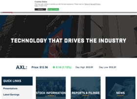 investor.aam.com