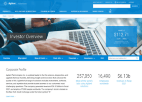 investor.agilent.com