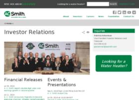investor.aosmith.com
