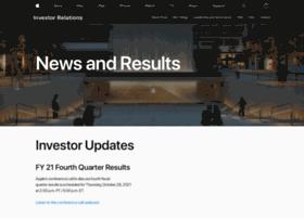 investor.apple.com