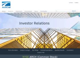 investor.archcoal.com