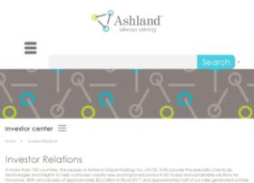 investor.ashland.com