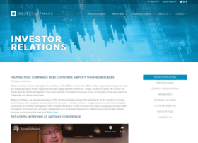 investor.asuresoftware.com