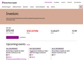 investor.bms.com