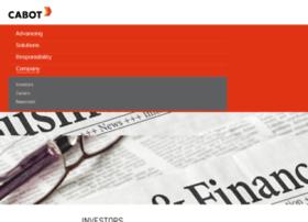 investor.cabot-corp.com