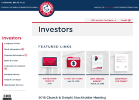 investor.churchdwight.com