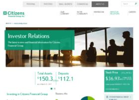 investor.citizensbank.com