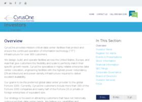 investor.cyrusone.com
