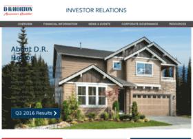 investor.drhorton.com