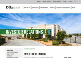 investor.dukerealty.com
