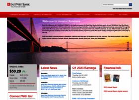 investor.eastwestbank.com