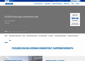 investor.ecolab.com