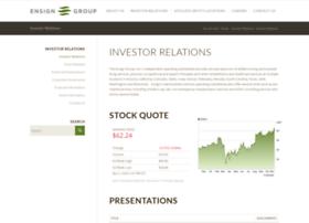 investor.ensigngroup.net