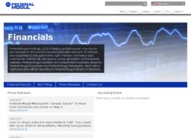 investor.federalmogul.com