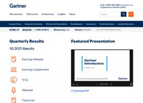 investor.gartner.com